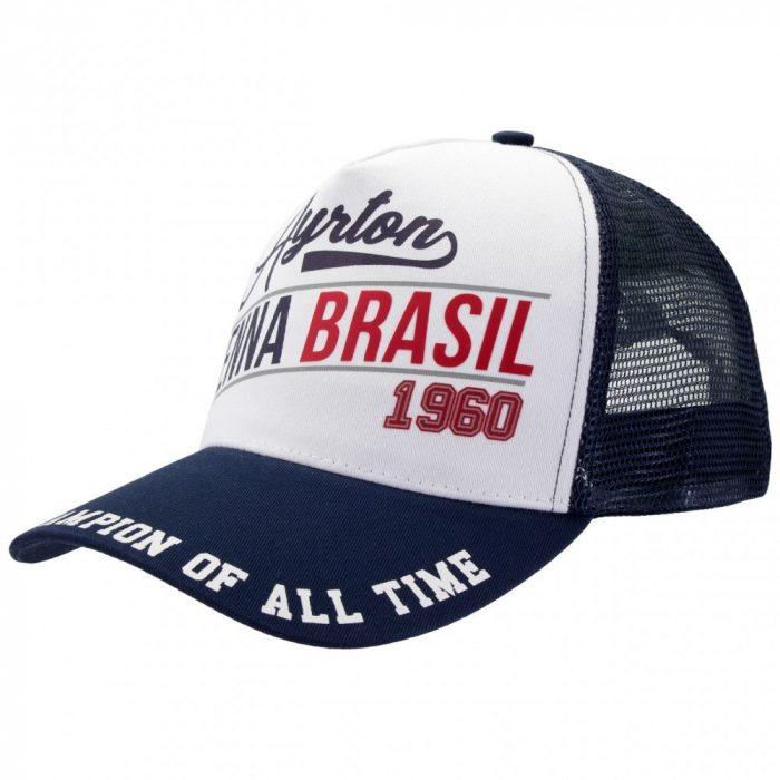2017, Blue, Adult, Senna Brasil 1960 Baseball Cap