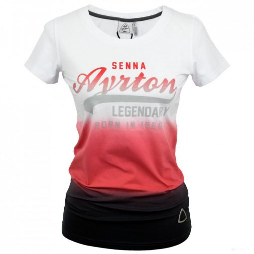 2018, White, XS, Senna Round Neck Vintage3 Women T-shirt