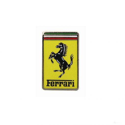 2019, Yellow, Ferrari Logo Pin