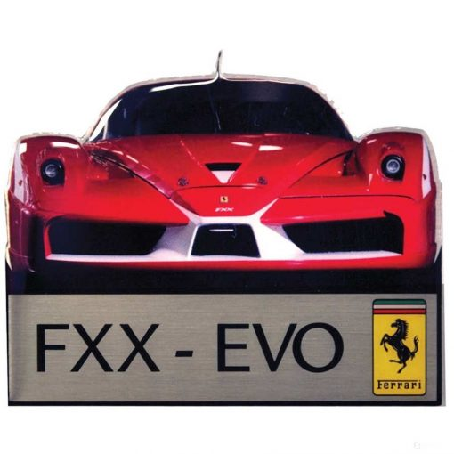 2019, Red, Ferrari FXX EVO Fridge Magnet