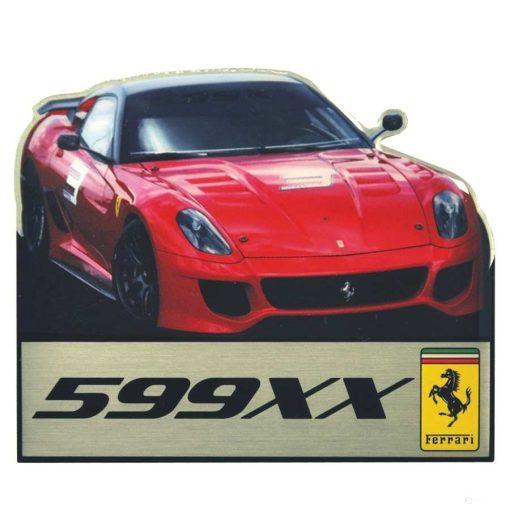 2019, Red, Ferrari 599XX Fridge Magnet