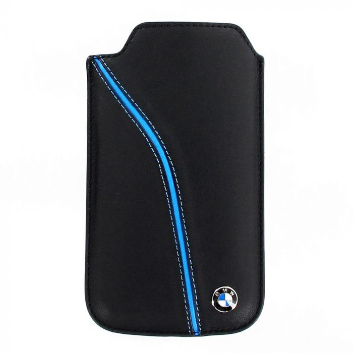 2014, Black, M, BMW Blue Line Phone Case