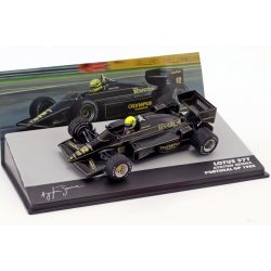 2019, Black, 1:43, Senna Lotus 97T Portugal GP 1985 Model Car