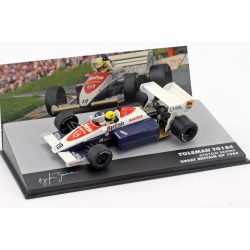 2019, White, 1:43, Senna Toleman TG184 British GP 1984 Model Car