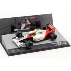 2019, White, 1:43, Senna McLaren MP4/6 World Champion 1991 Model Car