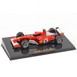 2018, Red, 1:43, Schumacher Ferrari F2002 Model Car