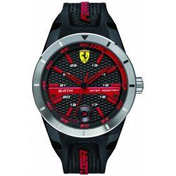 2019, Black, Ferrari Redrev Mens Watch