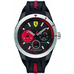 2019, Black-Red, Ferrari Redrev T Mens Watch