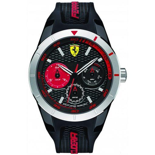 Ferrari Redrev T Mens Watch, Black-Red, 2019 - FansBRANDS
