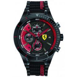 2019, Black-Red, Ferrari Redrev EVO Mens Watch