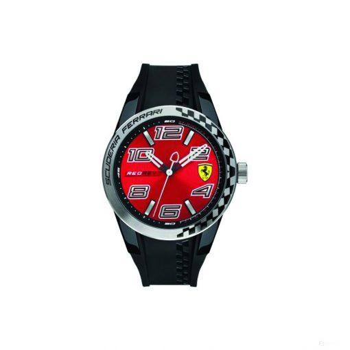 Ferrari Redrev T Quartz Mens Watch, Black-Red, 2019 - FansBRANDS