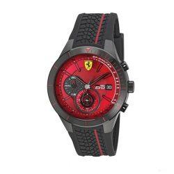2019, Red, Ferrari Redrev EVO Quartz Mens Watch