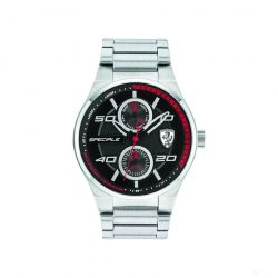 2019, Silver, Ferrari Speciale Multifunction Mens Watch