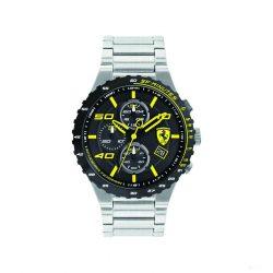 2019, Silver-Yellow, Ferrari Special EVO Chrono  Mens Watch