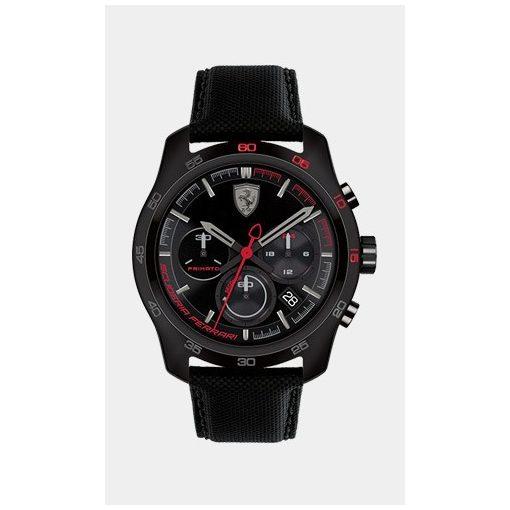 Ferrari Primato Chrono Mens Watch, Black, 2019 - FansBRANDS