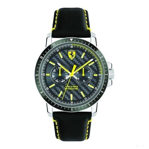Ferrari Turbo MultiFX Mens Watch, Black-Yellow, 2019 - FansBRANDS