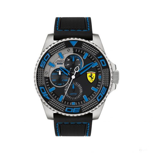 2020, Black-Blue, Ferrari Kers Extreme Multifx Mens Watch