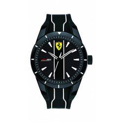 2019, Black, Ferrari Redrev Quartz Mens Watch