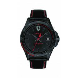 2019, Black, Ferrari Pilota Quartz Mens Watch