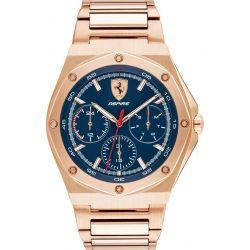 2019, Gold, Ferrari Aspire Multifunction Mens Watch