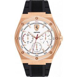 2019, Black-Gold, Ferrari Aspire Multifunction Mens Watch