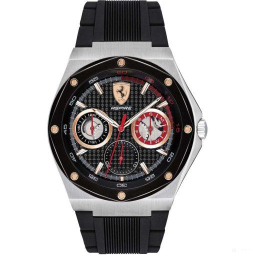 Ferrari Aspire Multifunction Mens Watch, Black, 2019 - FansBRANDS