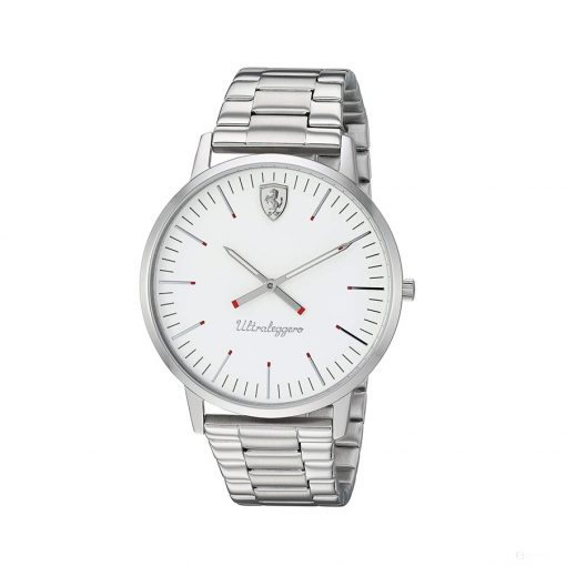 Ferrari Ultraleggero 2H Mens Watch, White-Silver, 2019 - FansBRANDS
