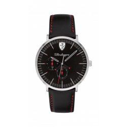 2019, Black, Ferrari Ultraleggero Multifunction Mens Watch