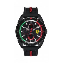 2019, Black, Ferrari Forza Mens Watch