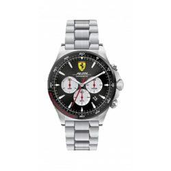 2019, Black, Ferrari Pilota Chrono Mens Watch