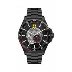 2019, Black, Ferrari Pilota Automatic Mens Watch