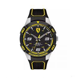 2019, Black-Yellow, Ferrari Apex Mens Watch