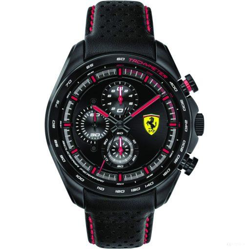 2020, Black, Ferrari Speedracer Chrono Mens Watch