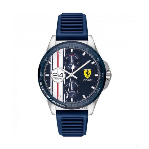 2020, Blue, Ferrari Pilota Multifx Mens Watch