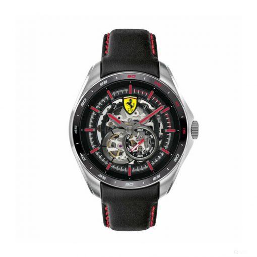 2020, Black-Silver, Ferrari Speedracer Automatic Multilevel Mens Watch
