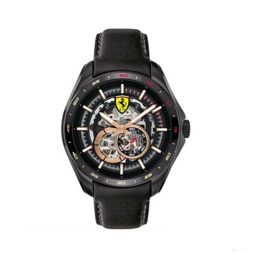 2020, Black, Ferrari Speedracer Automatic Multilevel Mens Watch