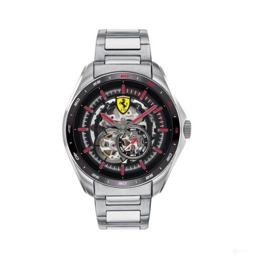 2020, Silver, Ferrari Speedracer Automatic Multilevel SS Mens Watch