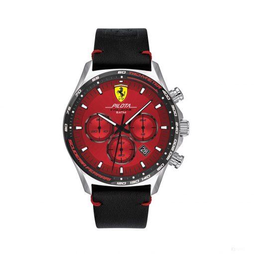 2020, Red-Black, Ferrari Pilota EVO Chrono Mens Watch