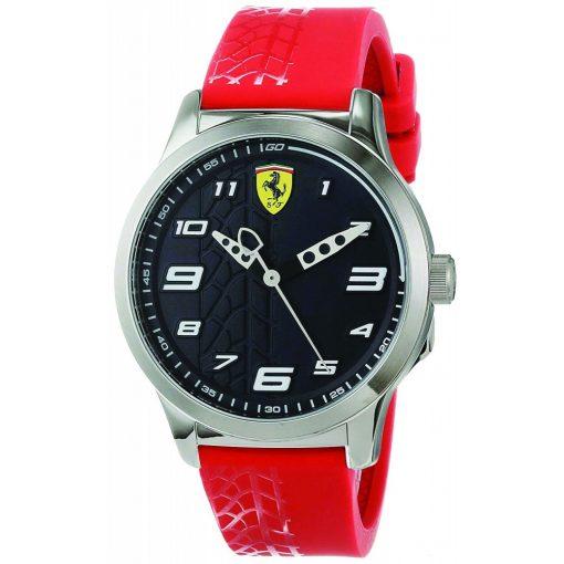 Ferrari Pitlane Mens Watch, Red, 2019 - FansBRANDS