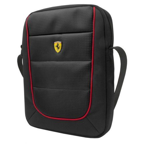 2018, Black, 20x20x5 cm, Ferrari Scudetto Sidebag - FansBRANDS