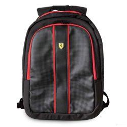 2019, Black, Ferrari USB Connector Backpack