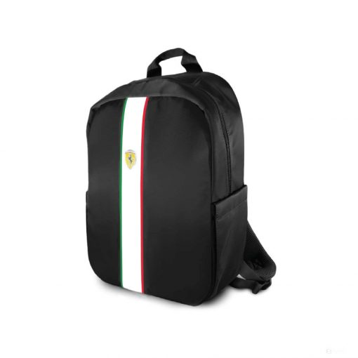 2020, Black, 49x37x14 cm, Ferrari Pista Italia Backpack