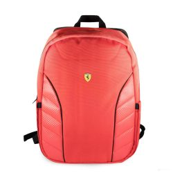 2019, 40x30x10 cm, Red, Ferrari Scudetto Carbon Backpack