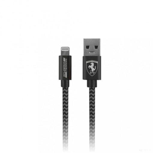 2020, Black, 1,5 m, Ferrari Lightning Cable