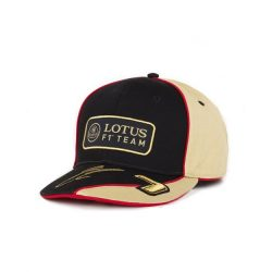 2013, Black, Adult, Lotus Räikkönen Baseball Cap