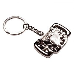 2015, Silver, Schumacher Steering Wheel Keyring