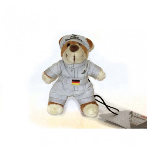 Schumacher Teddy Bear Keychain, Grey, 2015 - FansBRANDS