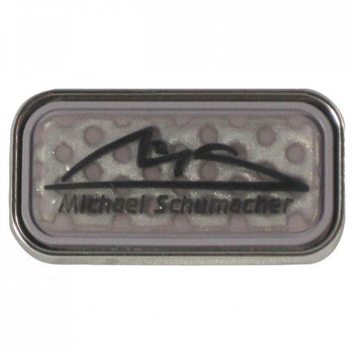 Schumacher Logo brooch, Grey, 2015 - FansBRANDS