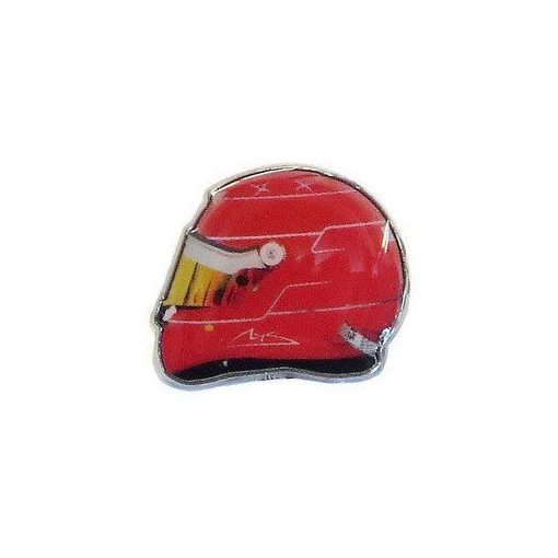 Schumacher 2011 helmet brooch, Red, 2015 - FansBRANDS