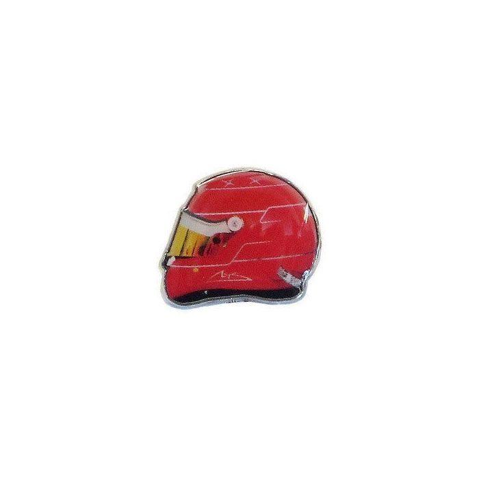 2015, Red, Schumacher 2011 helmet brooch